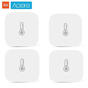 Cảm biến nhiệt độ Xiaomi Aqara Cảm biến môi trường độ ẩm áp suất không khí thông minh Điều khiển thông minh Kết nối Zigbee Cho xiaomi APP Mi home