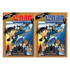 Combo Thám Tử Lừng Danh Conan Hoạt Hình Màu - Khinh Khí Cầu Mắc Nạn (2 Tập)(Tái Bản)