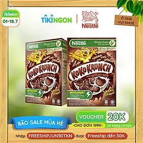 [Chỉ giao HN] Combo 2 hộp ngũ cốc ăn sáng Koko Krunch (Hộp 170g)
