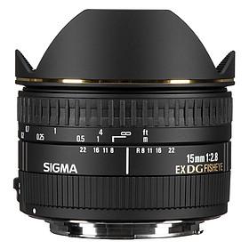 Ống kính Sigma 15 F/2.8 EX DG FISHEYE DIAGONAL For Nikon - Hàng Chính Hãng
