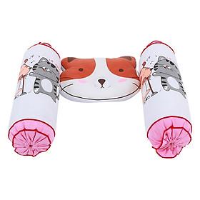 Bộ 3 Cái Gối Đôi Con Mèo Babytop - Giao Mẫu Ngẫu Nhiên