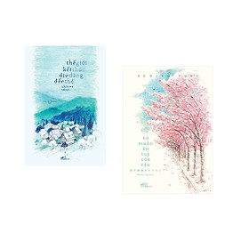 Combo 2 cuốn sách: Thế giới kết thúc dịu dàng đến thế + Tớ muốn ăn tụy của cậu