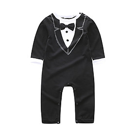 New Baby Rompers Autumn Baby Boy Jumpsuit Long Sleeve Solid Color Newborn Infant Clothing