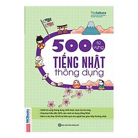 5000 Từ Vựng Tiếng Nhật Thông Dụng ( tặng kèm bookmark KZ )