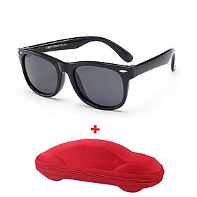 [KÈM VIDEO] - Mắt kính trẻ em CAO CẤP chống gãy + chống tia UV MK02 dành cho bé trai bé gái (TẶNG KÈM HỘP ĐỰNG KÍNH HÌNH Ô TÔ)