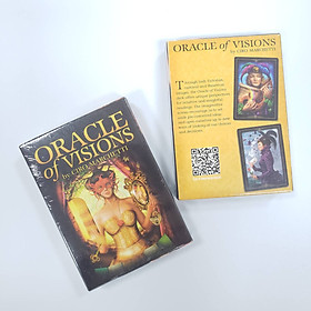 Bộ Bài Bói Tarot Oracle of Visions Card Deck Cao Cấp Đẹp