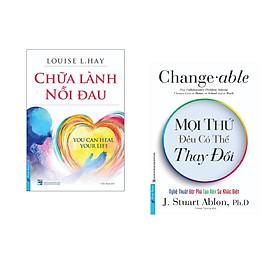 Combo 2 cuốn sách: Chữa Lành Nỗi Đau (mới) + Mọi Thứ Đều Có Thể Thay Đổi