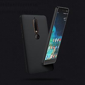 Hình đại diện sản phẩm Ốp lưng cho Nokia 6 2018 chính hãng Nillkin dạng sần