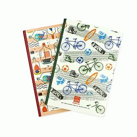 Vở Kẻ Ngang Pattern 200 trang 1423 (lốc 5 quyển)