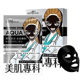 Mặt nạ đen SEXYLOOK Aqua [TRẮNG MỊN – CẤP ẨM] - Đài Loan (28ml x 4 miếng)