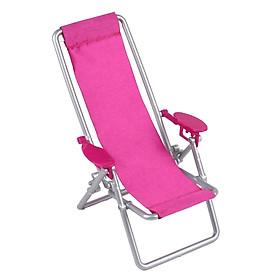 Ghế tựa lưng cho búp bê màu hồng
