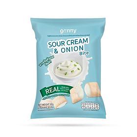 Bánh snack Ngũ Cốc Grinny nhân Kem Hành - Sour Cream & Onion