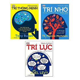 Combo 3 cuốn Tối Ưu Hóa Trí Nhớ Bằng Phương Pháp Hình Ảnh+Tối Ưu Hóa Trí Thông Minh+ Tăng Cường Trí Lực