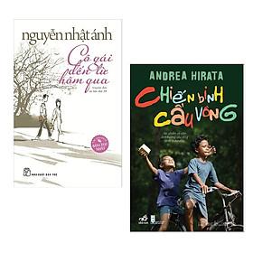 Combo 2 Cuốn Sách Văn Học Cực Hay: Cô Gái Đến Từ Hôm Qua + Chiến Binh Cầu Vồng (Tái Bản) / Tặng Kèm Bookmark Happy Life