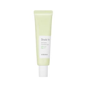 Kem chống nắng vật lý COSRX Shield Fit Green Comfort Sun SPF50+ PA++++ 35ml