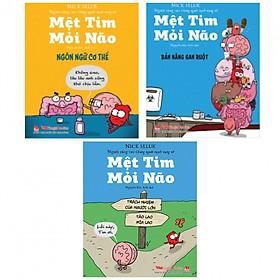 Combo truyện mệt tim mỏi não bộ 3 cuốn - Tặng kèm bookmark thiết kế