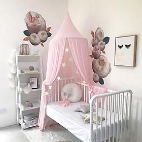 Lều công chúa, lều hoàng tử vải decor cho phòng ngủ của bé