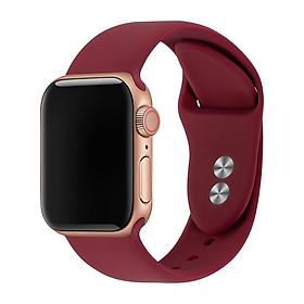 Dây đeo Silicon màu dành cho Apple WATCH 42mm