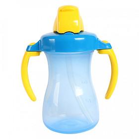 Bình uống nước tay cầm có ống hút pigeon (150ml)