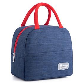 Túi đựng hộp cơm cao cấp. Túi giữ nhiệt đa năng nhiều lớp. Túi đựng đồ ăn trưa. Túi chống toả nhiệt, dày dặn, phong cách Hàn Quốc thời trang, hiện đại KORESTA15