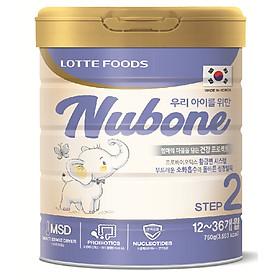 Combo 02 lon sữa công thức cao cấp Nubone step 1 cho trẻ 0-12 tháng nhập khẩu nguyên lon từ Hàn Quốc