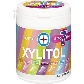 Kẹo cao su Lotte Xylitol 7 vị trái cây 143g