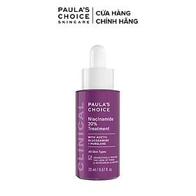Tinh chất se khít lỗ chân lông tối ưu Paula's Choice Clinical Niacinamide 20% Treatment 20ml mã 8030