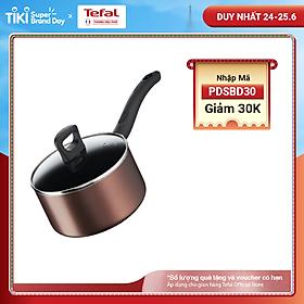 Quánh Tefal Day By Day G1432305 18cm - Tương thích với tất cả các mặt bếp - Công nghệ Thermor-spot cảnh báo nhiệt - Hàng chính hãng