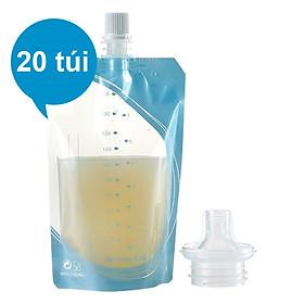 Hộp 20 Túi Trữ Sữa Mẹ Trực Tiếp Từ Máy Hút Sữa Unimom UM870282