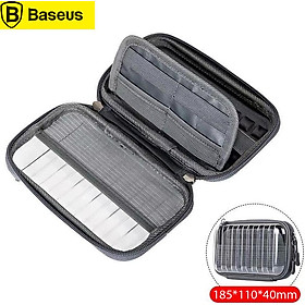 Baseus Waterproof Digital Bag USB Cable TF Card Earphone Mobile Phone Storage Bag Pouch Organizer Bag Travel Accessories