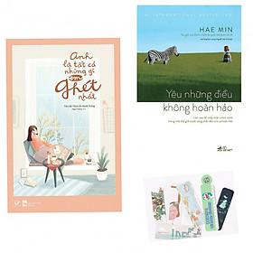 Combo 2 Cuốn: Yêu Những Điều Không Hoàn Hảo + Anh Là Tất Cả Những Gì Em Ghét Nhất - Tặng Kèm Bookmark PĐ