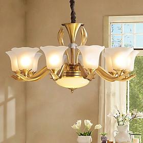 Đèn chùm - 8 tay siêu đẹp trang trí phòng khách, bếp, phòng ngủ