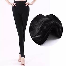 Quần legging lót lông siêu dày ấm cho mùa Đông lạnh