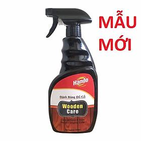 Xịt làm sạch và đánh bóng đồ gỗ Hando 600ml