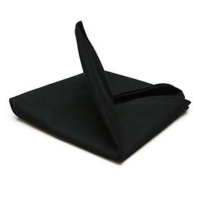 Combo 5 Cái Khăn Ăn Black Canvas Napkin 45x45cm (Đen)