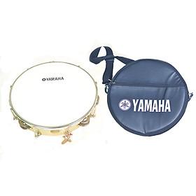 Trống Lắc Tay - Lục Lạc Gõ Bo Tambourine Yamaha MT5 GỖ + Tặng bao da 3 lớp