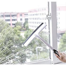 Cây gạt nước có tay cầm silicon làm sạch đa năng không trơn trượt để lau cửa sổ / gương / kính