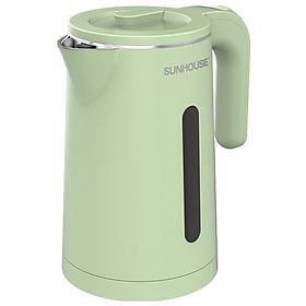Ấm Đun Siêu Tốc Inox 2 Lớp Sunhouse SHD1353 (1.8 Lít) - Hàng Chính Hãng