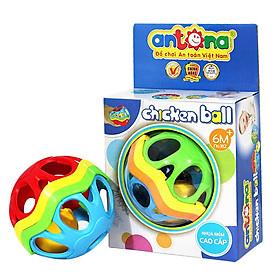Đồ Chơi Sơ Sinh - Bóng Mềm Xúc Xắc Chicken Ball Antona