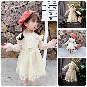 VT46Size100-140 (12-30kg)Váy đầm xoè bé gái - Kiểu dáng công chúaHÀNG QUẢNG CHÂU