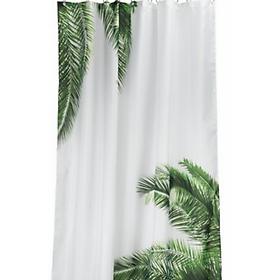 Rèm Phòng Tắm JYSK Pajala Trắng  Xanh Lá 150  x  200 cm