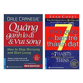 Combo 7 Thói Quen Của Bạn Trẻ Thành Đạt (Tái Bản) + Quẳng Gánh Lo Đi Và Vui Sống (2 Cuốn)