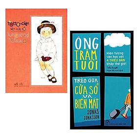 Combo Sách Văn Học Thu Hút Nhiều Đọc Giả: Ông Trăm Tuổi Trèo Qua Cửa Sổ Và Biến Mất (Tái Bản) + Totto - Chan Bên Cửa Sổ (Tái Bản) / Top Những Cuốn Sách Best-seller Trong Tháng