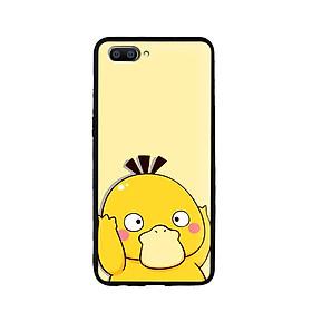 Ốp lưng mẫu đẹp cho điện thoại Realme C1 - Viền dẻo - 02093 7802 PSYDUCK02 - Hàng Chính Hãng
