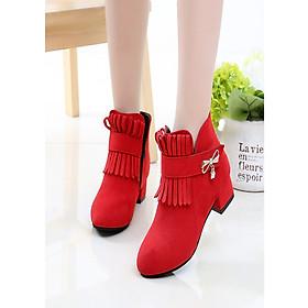 Giày Boot ( cao cấp ) cho bé gái phong cách hàn quốc - EB001