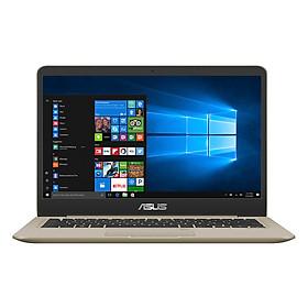 Laptop Asus Vivobook 14  A411UA-EB678T Core i5-8250U/ Win10 (14 inch) - Gold - Hàng Chính Hãng