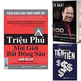Combo Best Seller: Tiền Đẻ Ra Tiền: Đầu Tư Tài Chính Thông Minh, 100 chìa khoá CEO, Triệu phú bất động sản NHH