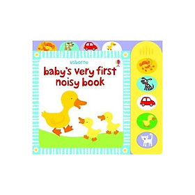 Usborne Baby's very first noisy book