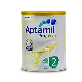 Sữa Aptamil Úc Profutura Số 2 Cho Bé Từ 6-12 Tháng Lon 900g