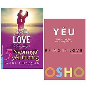 Combo 2 cuốn: 5 Ngôn Ngữ Yêu Thương - The Five Love Languages (Tái Bản) + OSHO - Yêu - Being In Love